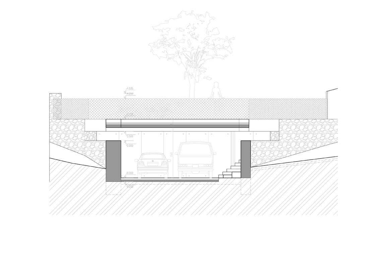 015-stojisko-oporny-mur-sliacska-bratislava-pavlech-architekti-rez