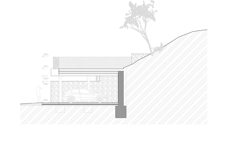 016-stojisko-oporny-mur-sliacska-bratislava-pavlech-architekti-rez