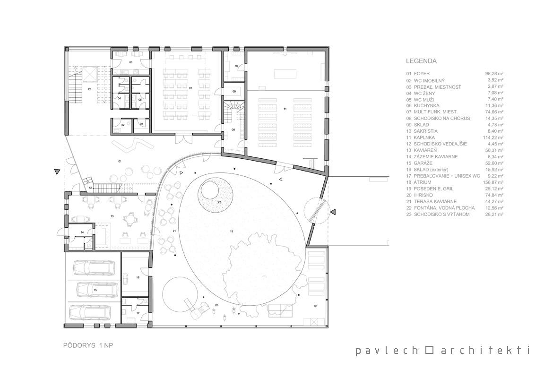 022-podorys-pastoracne-centrum-dubravka